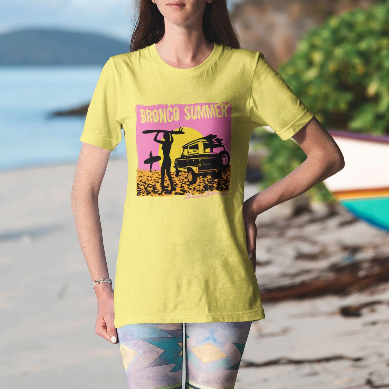 Bronco Summer Short-Sleeve Unisex T-Shirt