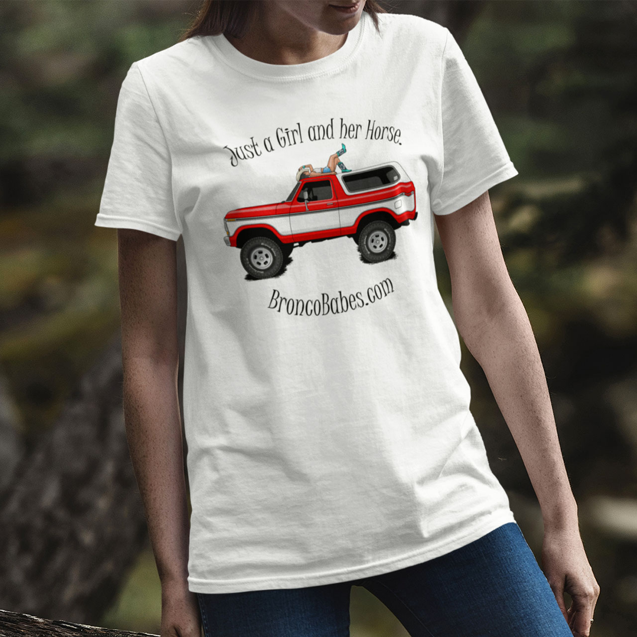Just A Girl And Her Horse Unisex T-Shirt